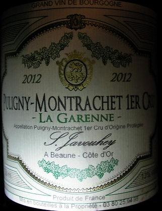 "Puligny-Montrachet 1er Cru ""La Garenne"" 2012 S.JAVOUHEY Blanc"