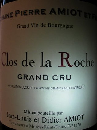 Clos de la Roche Grand Cru 2016 AMIOT Rouge