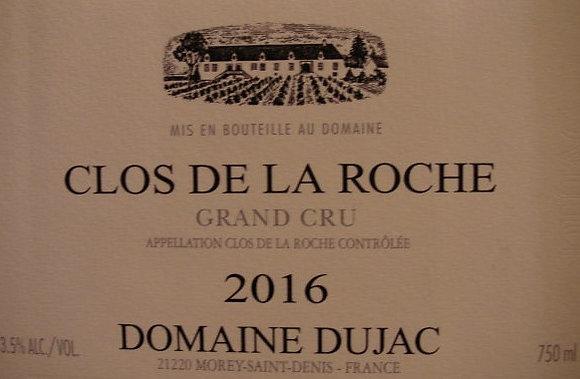 Clos de la Roche Grand Cru 2016 DUJAC Rouge