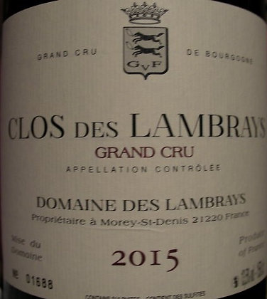 Clos des Lambrays Grand Cru Magnum 2015 Dne des LAMBRAYS Rouge