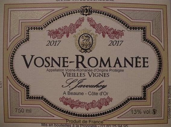 """Vosne-Romanée """"Vieilles Vignes"""" 2017 S.JAVOUHEY Rouge"""