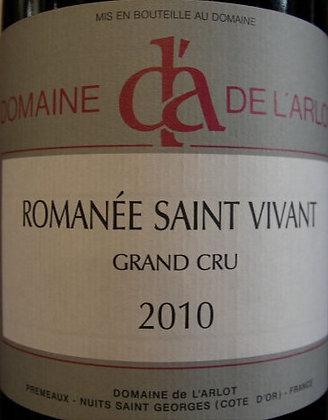 Romanée-Saint-Vivant 2010 Dne de l'Arlot Rouge