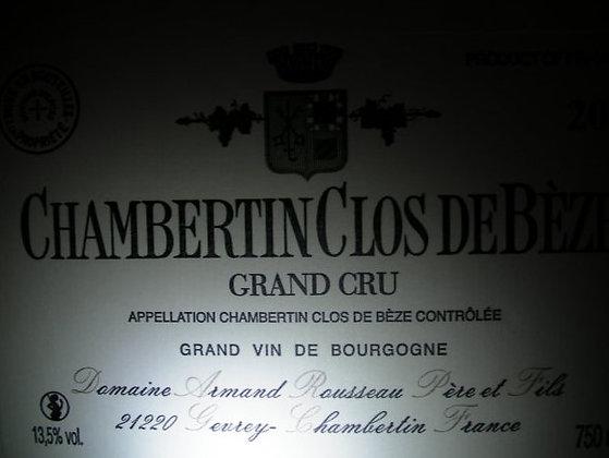 Chambertin-Clos de Bèze Grand Cru 2001 A.ROUSSEAU Rouge