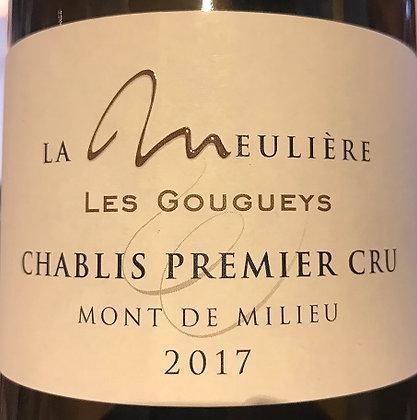 """Chablis 1er Cru """"Monts de Milieu"""" 2017 Domaine de la Meulière Blanc"""