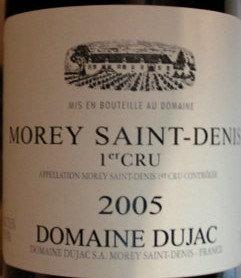 Morey-Saint-Denis 1er Cru 2005 DUJAC Rouge