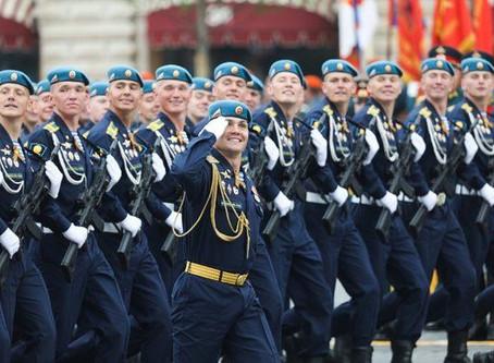 День ВДВ, выступление Руководителя Департамента установления партнерских связей Ивана Гривы