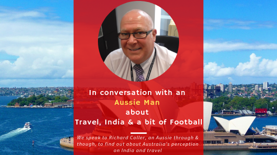 In conversation with an Aussie Man about Travel, India and