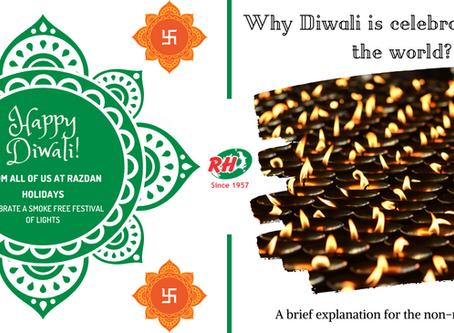 Why is Diwali celebrated?