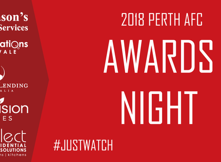2018 Perth AFC Awards Night