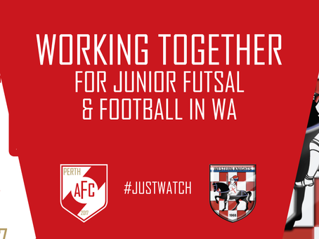 Perth AFC & Western Knights Working Together.