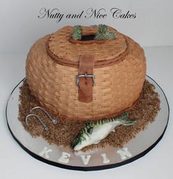 Fishing Basket cake2