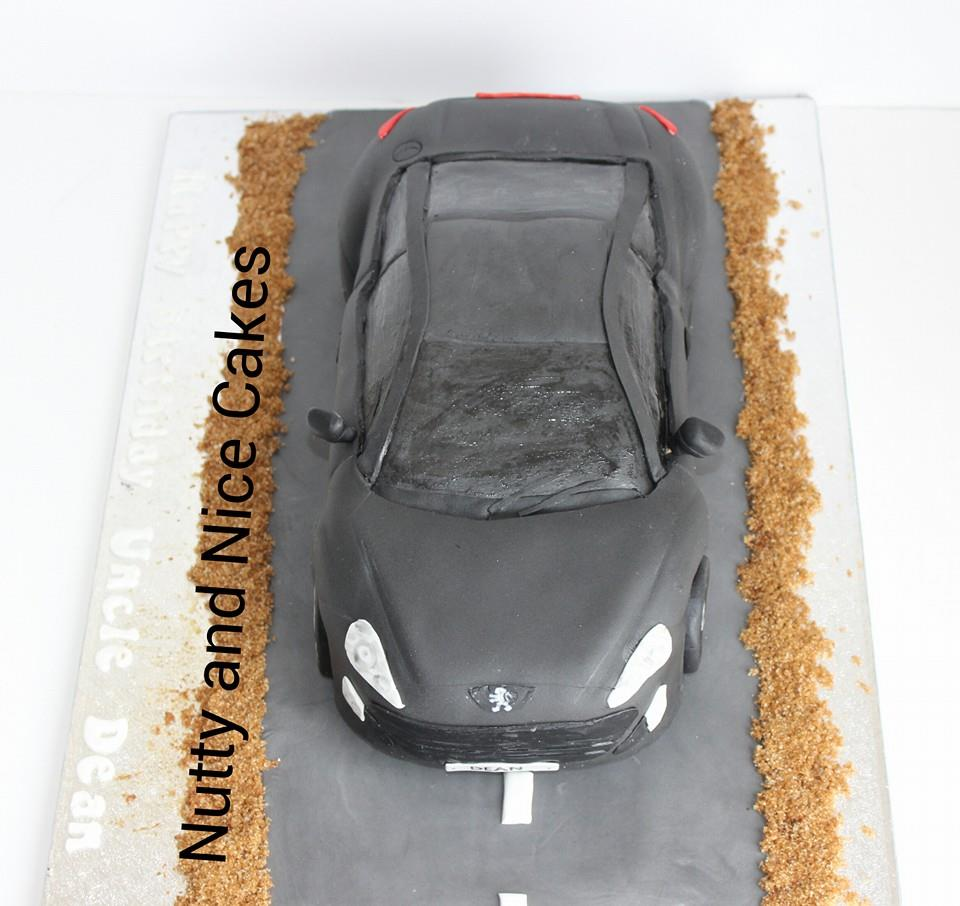 car cake Northampton Nutty and Nice Cakes - 07886926290