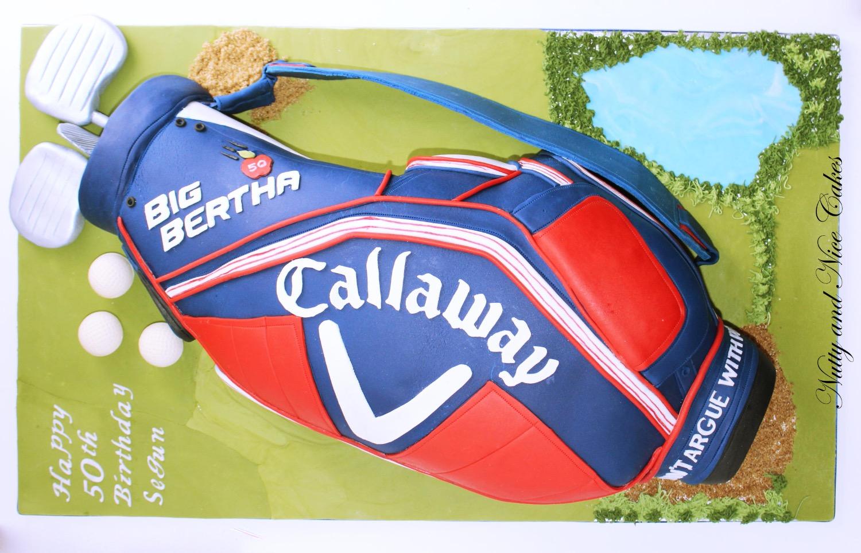 Golf Bag cake1