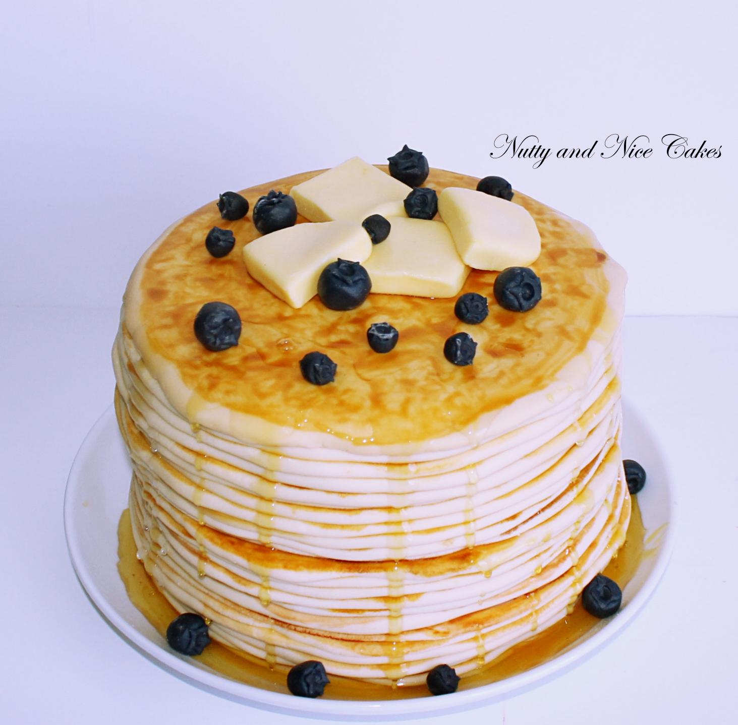 Pancakes cake 2