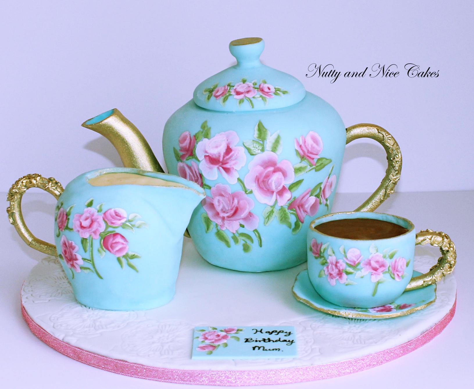 Tea Set Cake1