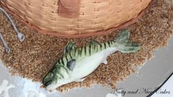 Fishing Basket cake