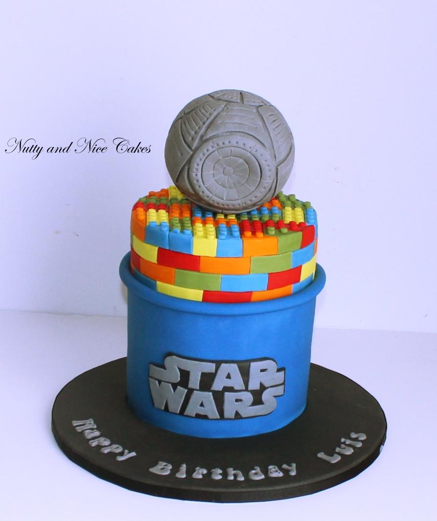 Lego Star Wars Cake1