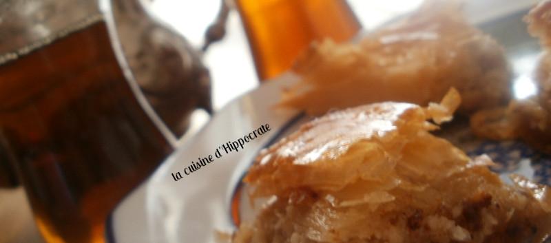 Thé à la menthe et baklavas