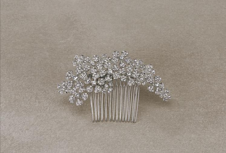 Aleli Peineta vintage silver