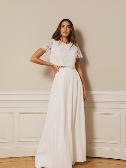 By Malina Cecile top and Alba skirt