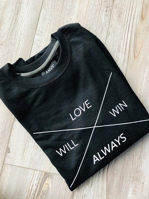 LWAW Black Sweatshirt