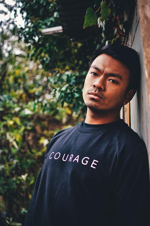 Black Courage Sweatshirt