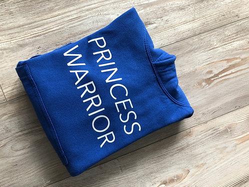 Hoodie Blue Princess Warrior