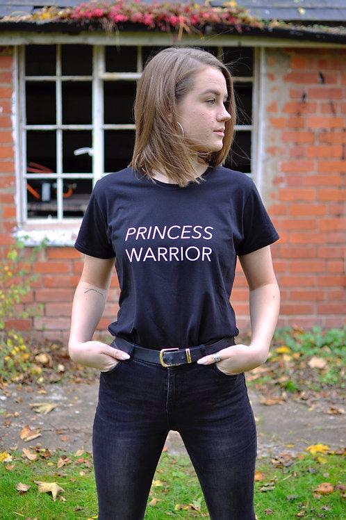 Princess Warrior Black T-shirt