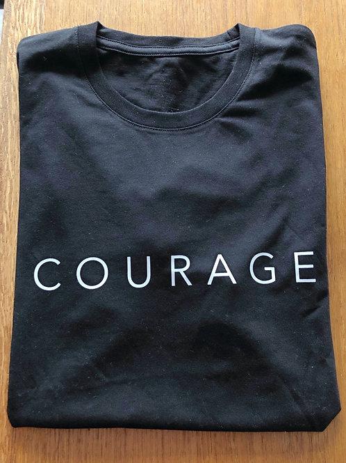 Black Courage Tee
