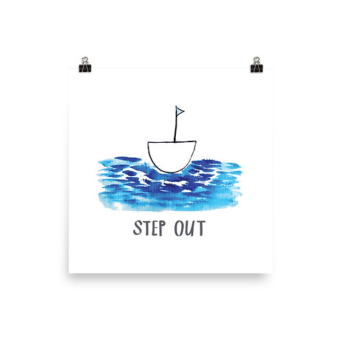 Step Out poster