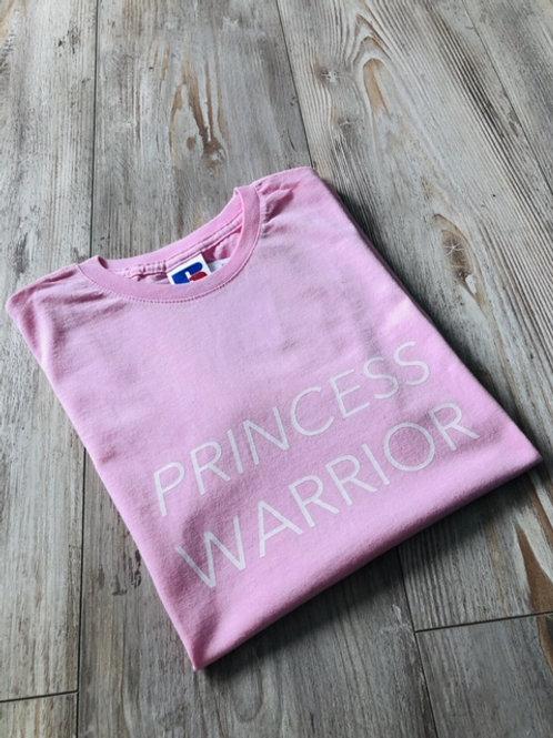 Pink Princess Warrior tee