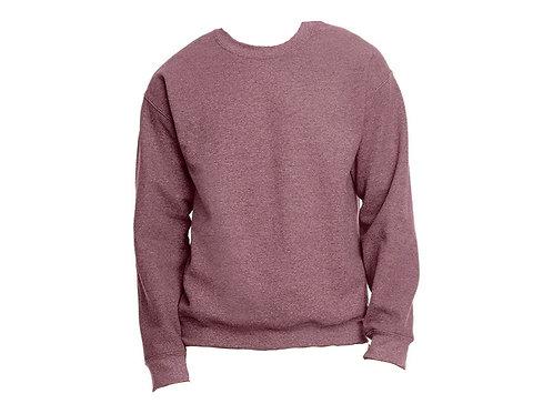 Blank Heather Maroon Sweatshirt- Select your design