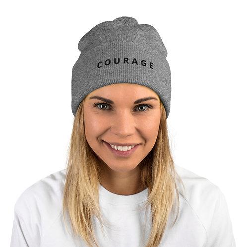 Courage - Pom-Pom Beanie