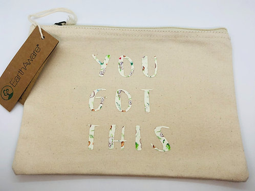 You got this make up bag