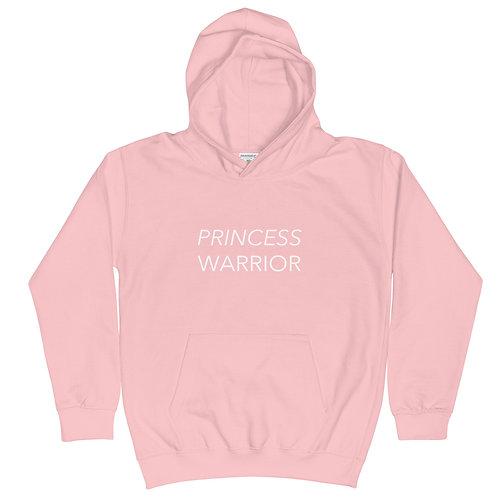 Princess Warrior - Kids Hoodie