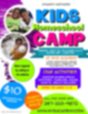 New Motivated Kids Summer Camp Flyer - M