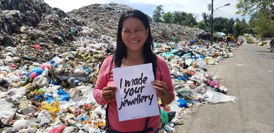 Nercelyn is one of the jewelry artisans of Lumago Fash rev, who made my clothes