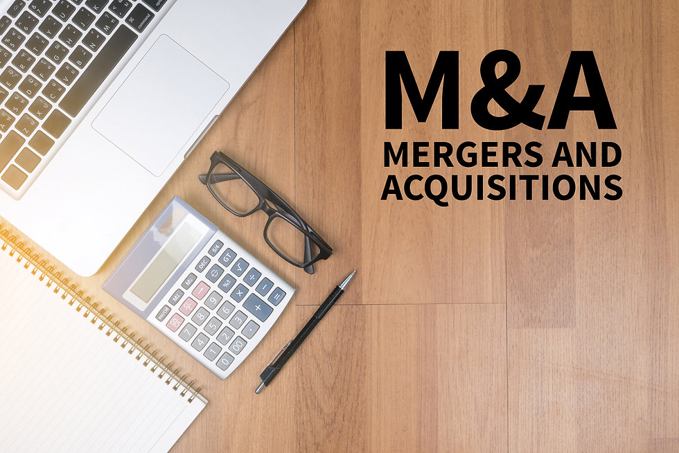 M&A (MERGERS AND ACQUISITIONS) Top view