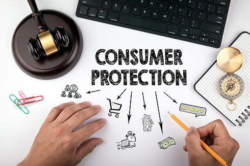 consumer protection, Law and justice con