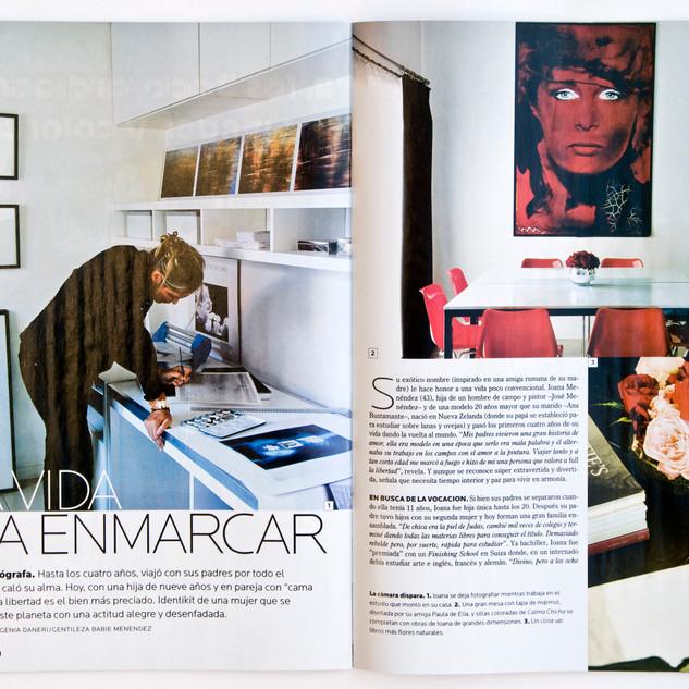 Revista Para Ti, 8 paginas.Ioana Menéndez, freelance photography  I  Fotografías de autor y comerciales.