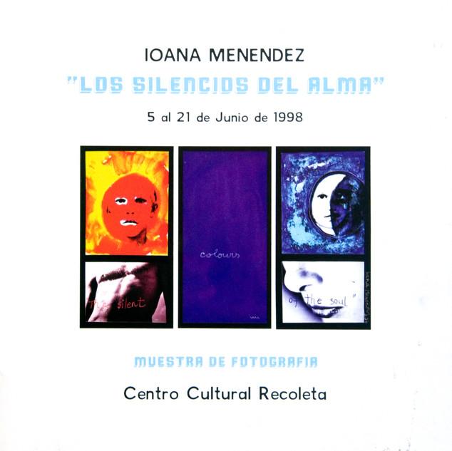 Catalogo exhibición Centro Cultural Recoleta. Ioana Menéndez, freelance photography  I  Fotografías de autor y comerciales.