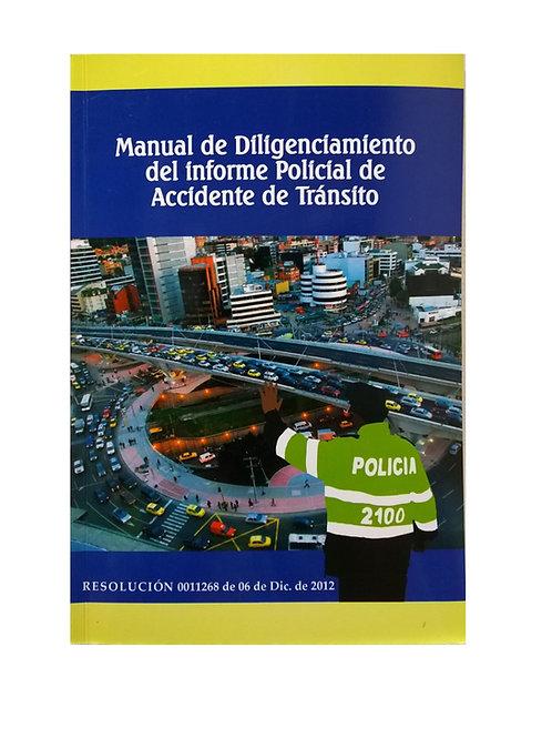Manual de Diligenciamiento Accidentes de Tránsito