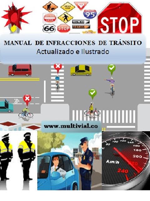Manual de infracciones de tránsito ilustrado