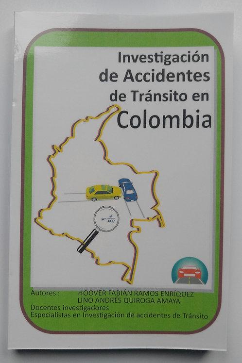 Libro de Investgación de Accidentes de Tr´nasito en Colombia