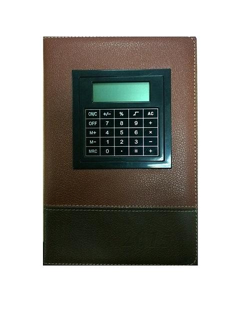 agenda con calculadora permanente