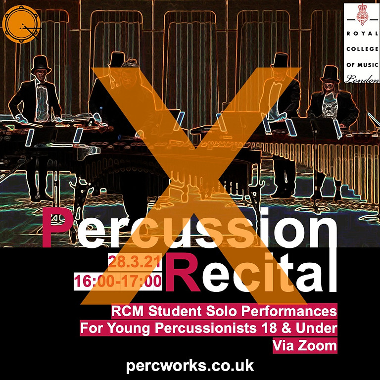 Royal College of Music // Percussion Recital