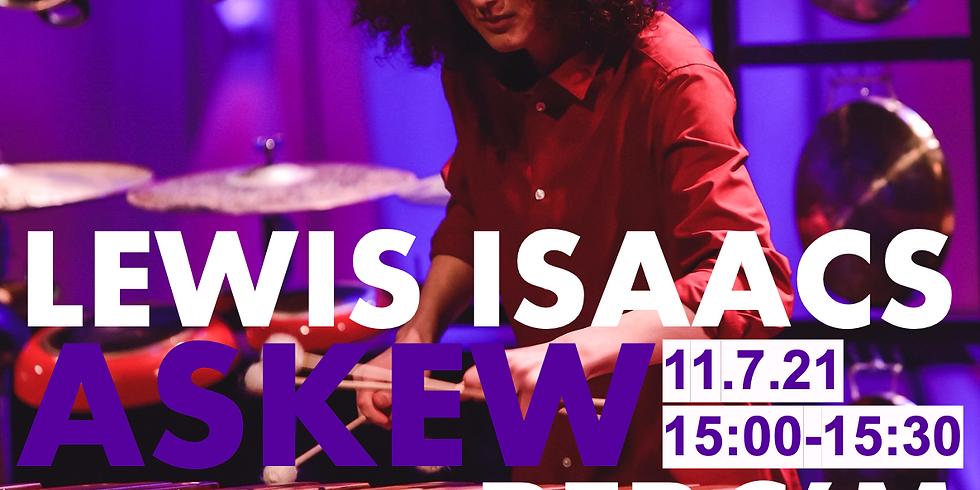 Lewis Isaacs // LIVE RCM Percussion Quartet Workshop