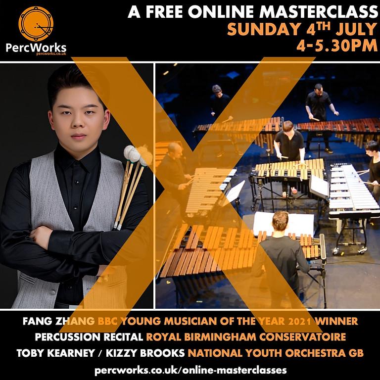 Fang Zhang (BBC YM Winner) & Royal Birmingham Conservatoire