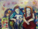 We Three Acrylic on canvas 40x30cm