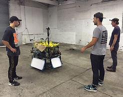 umusic nz amine the bradas behind the scenes 360 filming vr bananas arri light panel james rua chris mauger dane rua